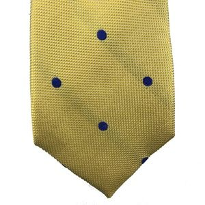 Tommy Hilfiger Neck Tie Yellow Derby Oxford Dot